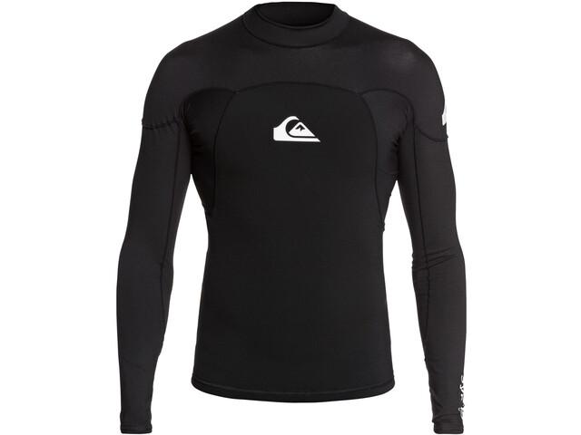 Quiksilver 1.0 Syncro LS Neoshirt B-Lock Men black/white